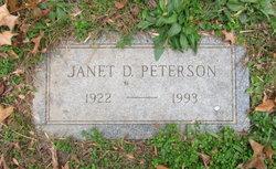 Dorothy Janet <I>Dixon</I> Peterson