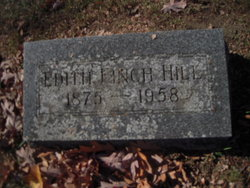 Edith <I>Finch</I> Hill