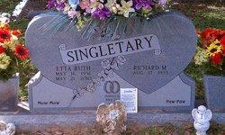 Etta Ruth <I>Polk</I> Singletary