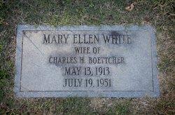 Mary Ellen <I>White</I> Boettcher