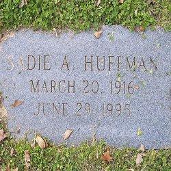 Sadie A. <I>Thomas</I> Huffman