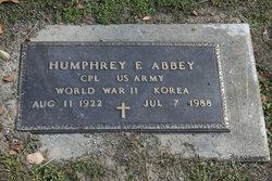 Humphrey E Abbey
