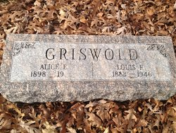 Alice E Griswold
