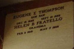 """Eugene E. """"Paw Paw"""" Thompson"""