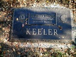 Dr Ronald Bronte Keeler