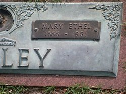 "Mary Ethel ""Ethel"" <I>Wilcoxson</I> Bailey"
