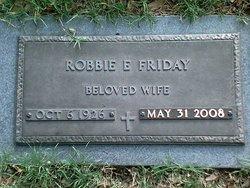 Robbie E Friday