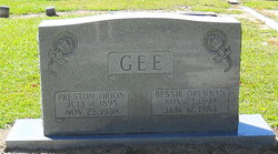 Preston Orion Gee
