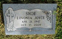 Lovonia Joyce Snoe