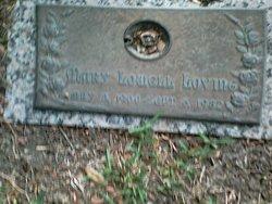 Mary <I>Lowell</I> Loving