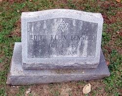 Edith <I>Klein</I> Bennett