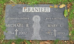 Mary Carmela <I>Scarcelli</I> Granieri