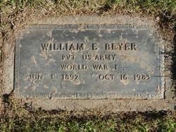 William E Beyer