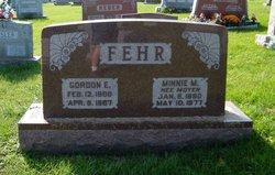 Minnie M. <I>Moyer</I> Fehr
