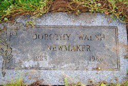 Dorothy Walsh Newmaker