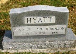 Beatrice Faye <I>Robinson</I> Hyatt