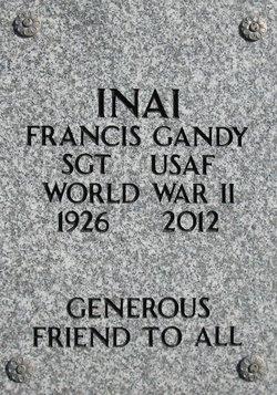 """Francis Kinji """"Gandy"""" Inai"""