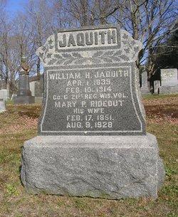 Mary P. <I>Rideout</I> Jaquith