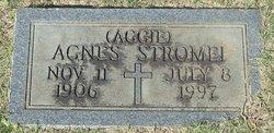 """Agnes """"Aggie"""" Stromei"""