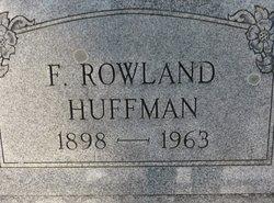 F Rowland Huffman