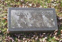 Alzina <I>Thomson</I> Jaquith