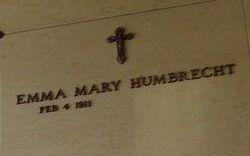 Emma Mary Humbrecht