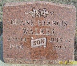 Duane Francis Walker