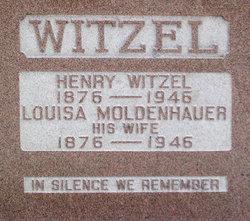 Louisa <I>Moldenhauer</I> Witzel