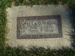 Ella <I>Heimsoth</I> Dodge