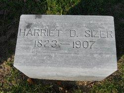 Harriet Abigail <I>Dauchey</I> Sizer