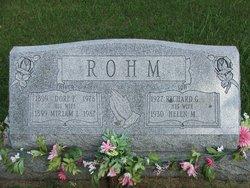 Miriam L <I>Wilt</I> Rohm