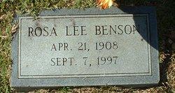 Rosa Lee Benson