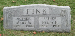 Mary M <I>Wallenmeyer</I> Fink