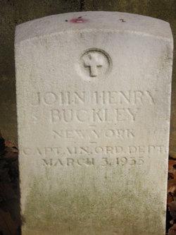 Capt John Henry Buckley