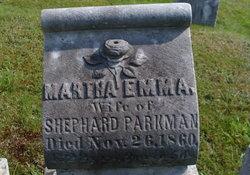 Martha Emma Parkman