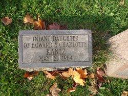 Infant daughter Kantz