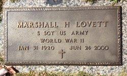 Marshall H Lovett