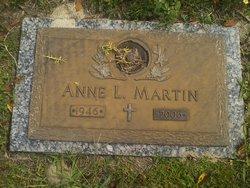 Anne L Martin