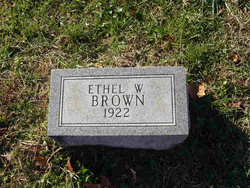 Ethel W Brown