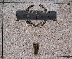 M Aileen Barber