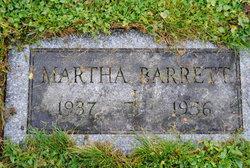 Martha Barrett