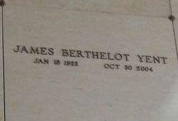 James Berthelot Yent