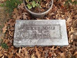 Alma E <I>Krech</I> Maier
