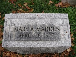 Mary A Madden