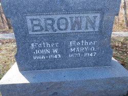 Mary Otta <I>Cummins</I> Brown