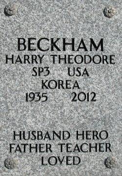 Harry Theodore Beckham