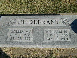 Zelma M Hildebrant