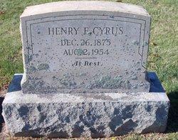 Henry Evans Cyrus