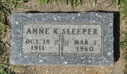 Anne K <I>McCormick</I> Sleeper