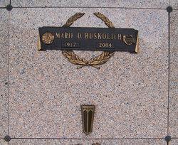 Marie D Buskolich